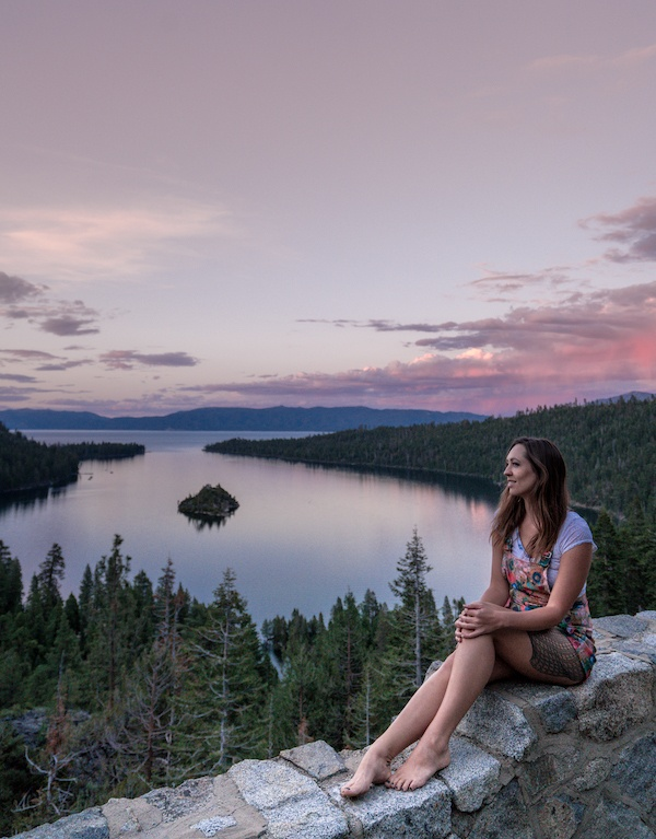 lake tahoe emerald bay sunset