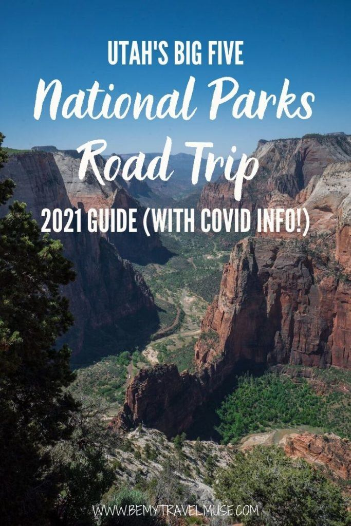 Planning a road trip to Arches, Bryce Canyon, Canyonlands, Capitol Reef and Zion? Here's an epic Utah national parks road trip itinerary, with insider tips on each national park, and the latest updates to make sure you have a smooth sailing journey! #Utah