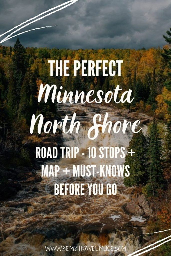 The perfect Minnesota North Shore road trip, with 10 unmissable stops, a map to guide you through your journey, and insider tips you need to know before you go. #Minnesota