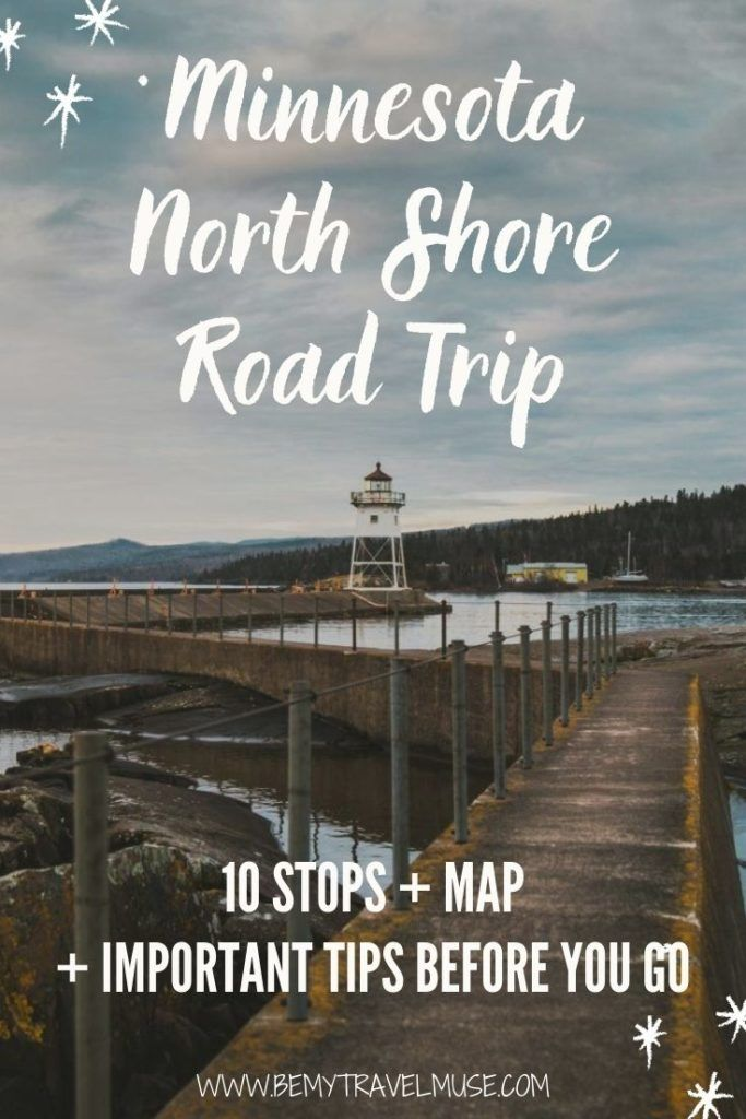 Planning a Minnesota North Shore road trip? Here's a complete itinerary with 10 amazing stops, plus a map to guide you through your road trip journey, important tips you must know before you go, as well as COVID-related info to help you make the most of your trip. #Minnesota