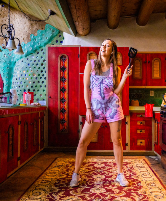I Lived Off the Grid in a Desert Earthship