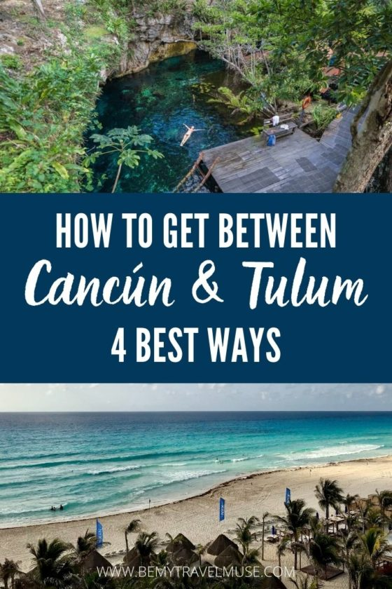 How to Get Between Cancún and Tulum