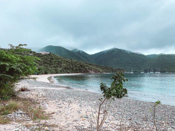 Foggy morning at Francis Bay Beach
