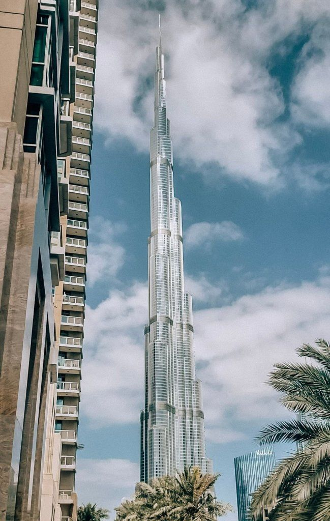Burj Khalifa, at the top of the list of things to do in Dubai!